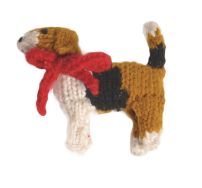 beagle dog ornament chilly dog sweaters