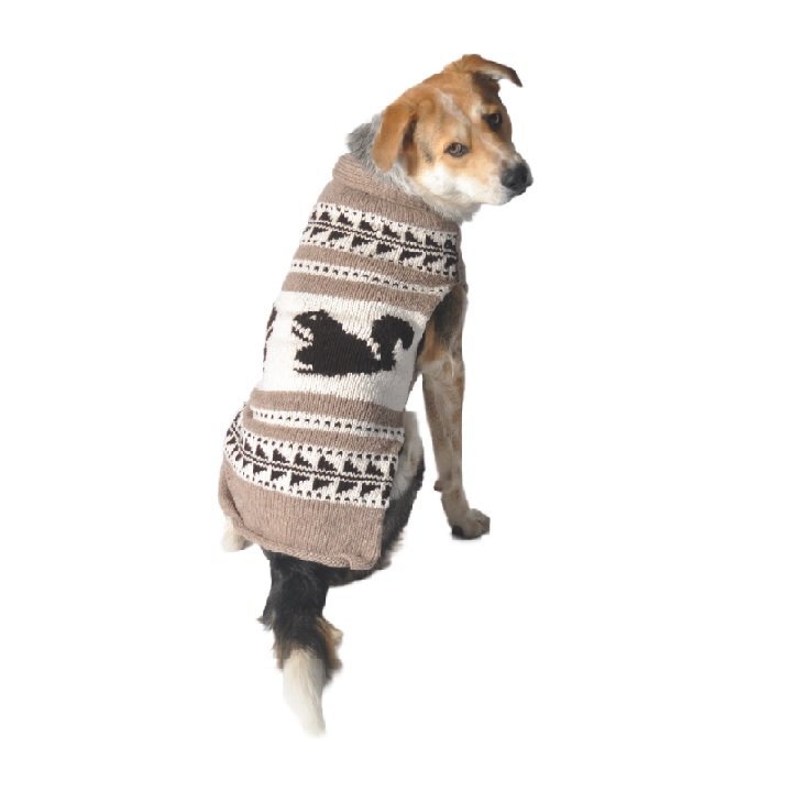 Cowichan Squirrel Shawl - Chilly Dog Sweaters