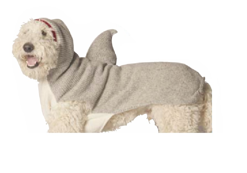 Shark Hoodie Dog Sweater Chilly Dog Sweaters