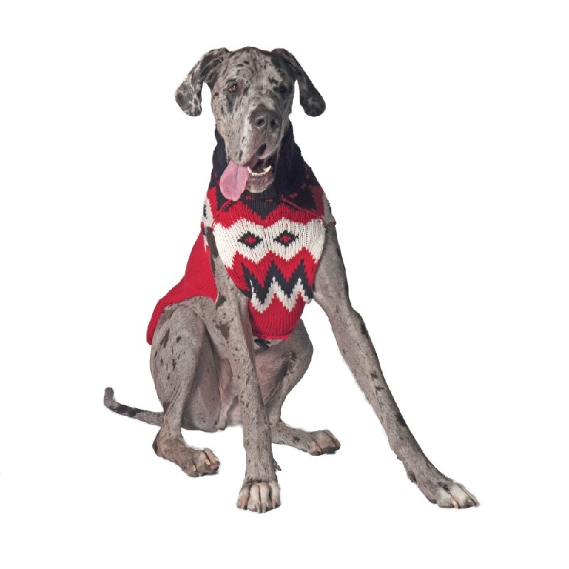Red Fairisle - Chilly Dog Sweaters